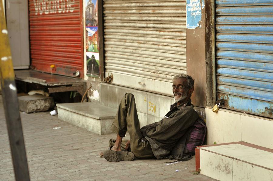 Street portrait from Girgaum in Mumbai.