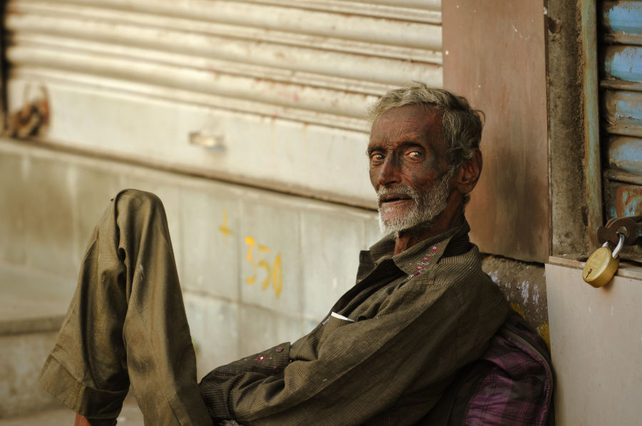 Street portrait from Girgaum in Mumbai.
