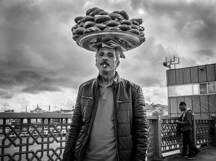 Simit seller