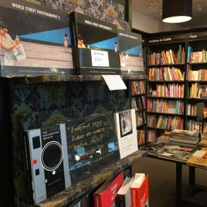 WSP 3 in a photo book store in London !