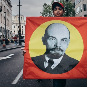 Lenin hits the Strand