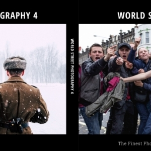 Front and back cover of World Street Photography 4 - made by Ed Robertson and Michał Orliński