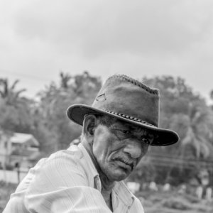 Portrait of farmer