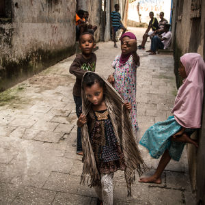 In the streets of Stone Town