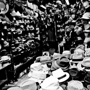 Hats, Hats, Hats and a woman.....