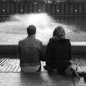 Couple in Barbican