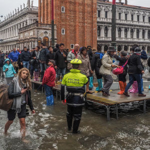Piazza San Marco under water