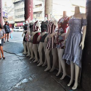Most of us are walking mannequins and living hangers.